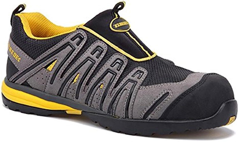 Paredes sp5056 Gr41 OZONO Sicherheitsschuhe grau/schwarz/gelb S1P Größe 41 grau/schwarz/gelb Sicherheitsschuhe 7bd54b