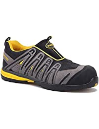 Paredes sp5056Gr44ozono–Zapatos de seguridad S1P talla 44color gris/negro/amarillo