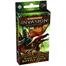 Warhammer Invasion Card Game: Tooth and Claw Battle Pack (Warhammer Invasion Metagame, the Corruption Cycle)