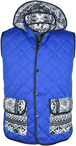 K20 Jeans -  Gilet  - Uomo Royal Blue