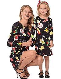 Riou Weihnachten Baby Kleidung Set Kinder Pullover Pyjama Outfits Set Familie Weihnachten Mama Kinder Mädchen... preisvergleich bei kinderzimmerdekopreise.eu