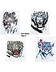 Amazon Fr Tatouage Tigre Beaute Et Parfum