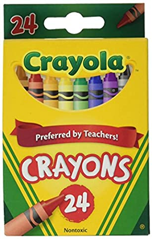 Crayola 24 Crayon Boxes (Pack Of 12)