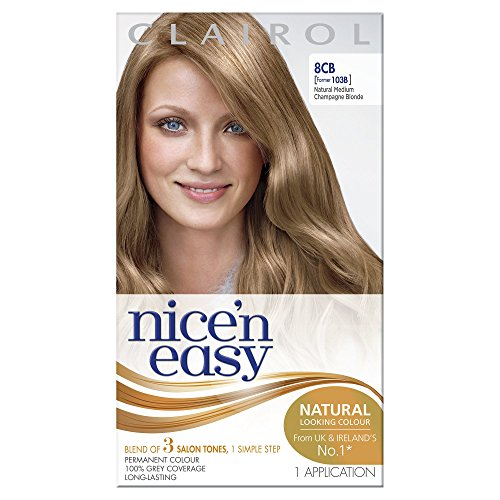 Clairol Nice N Easy Permanent Hair Colourant 103B - Natural Medium Champagne Blonde (Medium Blonde Clairol)