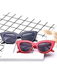 Xiaochou@sl Cat Eye Sonnenbrillen Vintage Mod Style Retro Sonnenblende Gläser klar