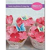 Multi Hortensie & Schmetterling Kuchen dekorieren Set–Silikon Ausstecher Äderung Förmchen &