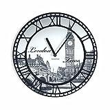 FLEXISTYLE Reloj de Pared único Vintage