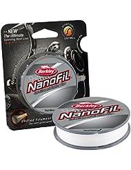 Berkley Nanofil Uni-Filamento .010 pulgadas de diámetro línea de pesca, la prueba de 17 libras, 150-Yard Carrete, Claro Mist