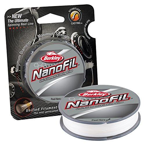 Berkley Nanofil Uni-Filament Angelschnur - 150 Yard (6-Pfund-Test)