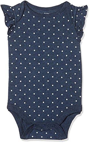 GAP Baby Girls' Bodysuit (23070505305_Blue Heather_3-6M)