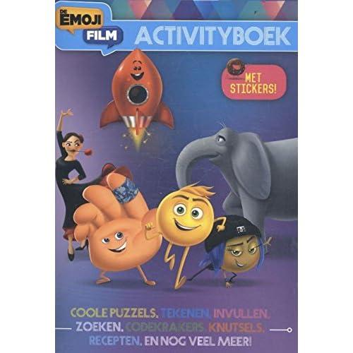 Emoij de film activity-boek