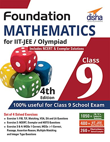 Foundation Mathematics for IIT-JEE/Olympiad for Class 9