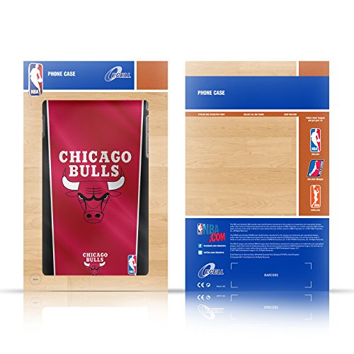 Ufficiale NBA Banner Logoman Nero Cover Contorno con Bumper in Alluminio per Apple iPhone 6 Plus / 6s Plus Marmo B&N
