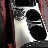 Matt ABS Chrome support à Housse Trim pour Mercedes Benz A/GLA/CLA Classe C117: 2012–2017AMG Car Styling Accessoires