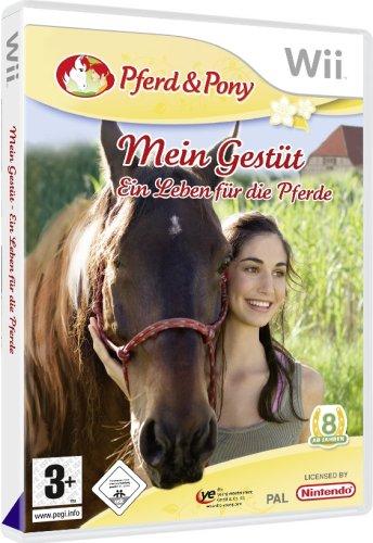 Mein Gestüt: Ein Leben für die Pferde - Teen-wii-spiele