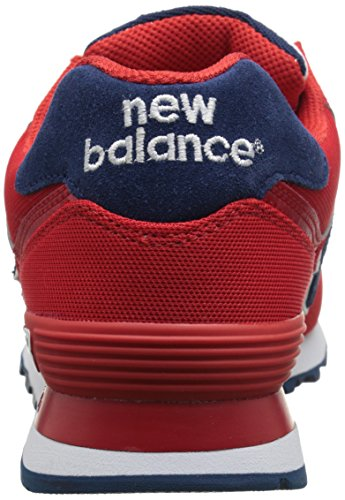 New Balance Unisex-Erwachsene 574 Pique Polo Pack Sneakers Rot (Red)