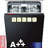 Amica EGSP 64511V A+++ 60cm vollintegriert Besteckschublade LED Innenbeleuchtung