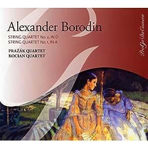 Borodine : Quatuors à cordes n° 1 et n° 2