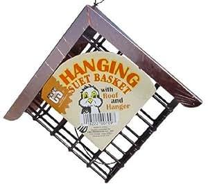 C&S Hanging Suet Basket w/ roof Jardin, Pelouse, Entretien