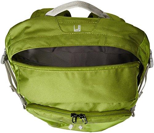 VAUDE Zaino Tecographic, Verde (holly green), 46 x 29 x 12 cm Verde (holly green)