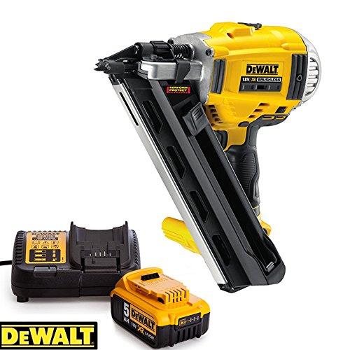 Dewalt-DCN692N-18V-Brushless-Framing-Nailer-90mm-With-1-x-5ah-Battery-Charger