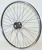 28 Zoll Fahrrad Laufrad Vorderrad Shimano XT Nabendynamo DH-T780 schwarz für V-Brakes / Felgenbremse