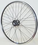 28 Zoll Fahrrad Laufrad Vorderrad Hohlkammerfelge CUT 19 Shimano XT Nabendynamo DH-T780 schwarz für V-Brakes / Felgenbremse