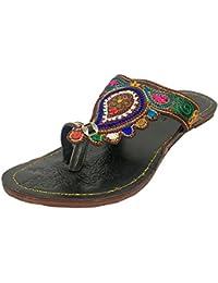 Step n Style, Sandali donna multicolore Multicoloured, multicolore (Multicoloured), 40