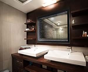 bilderdepot24 3d design infinity badezimmer spiegel mit. Black Bedroom Furniture Sets. Home Design Ideas