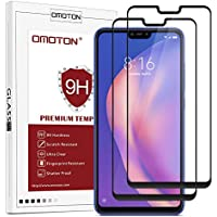 OMOTON Protector Pantalla Xiaomi Mi 8 Lite Protector de Pantalla Mi 8 Lite Cristal Templado Xiaomi