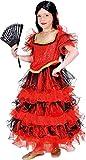 Mottoland Kinder Kostüm Spanierin Flamenco Zigeunerin Karneval Fasching Gr.128