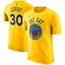 Nike NBA Golden State Warriors Stephen Curry 30 SC30 2017 2018 City Edition Name & Number