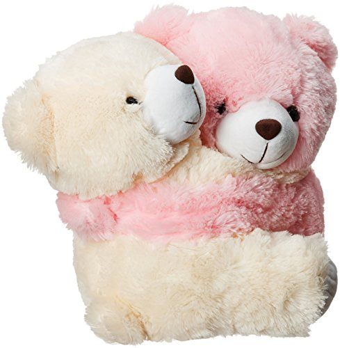 Dimpy Stuff Huggable Teddy, Pink/Cream (32cm)  available at amazon for Rs.359
