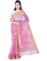 18a78cced8 Roopkala Silks & Sarees Cotton Saree (Srs-359_White) Best Deals ...