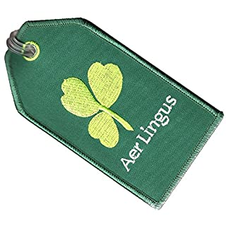 ACI Collectables Aer Lingus Embroidered Baggage Tag