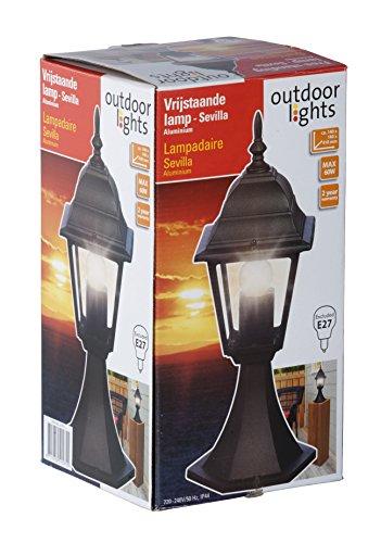 Outdoor Lights Luces al Aire Libre 41 cm 230 V Sevilla lámpara E27 LED Bombilla con