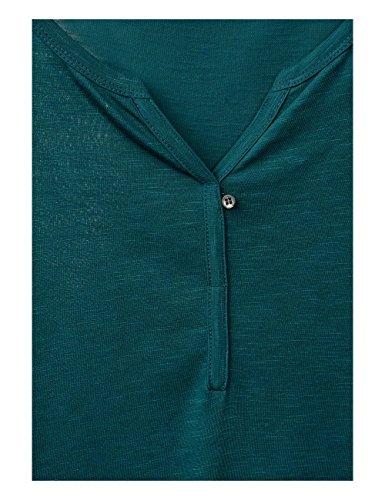 Cecil Damen Langarmshirt 311362 Amelie Grün (Emerald Green 11023)