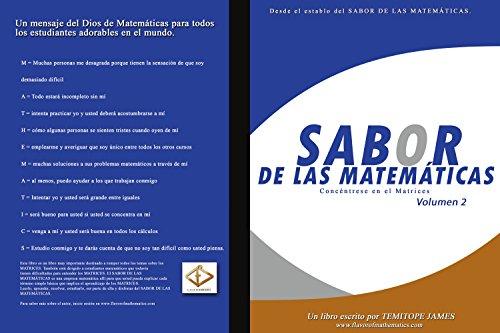 Concentrarse en las Matrices 2: Sabor de Matematica (Spanish Edition)