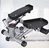 Air Stair Climber, Stepper-Trainingsgerät mit Widerstandsbändern Health & Fitness Mini Machine Aerobic Step