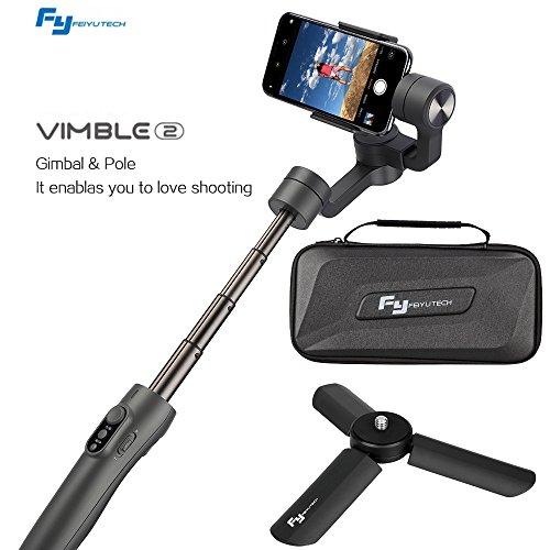 Stabilizzatore Smartphone, Feiyu Vimble 2 Gimbal Smartphone per Iphone, Action...