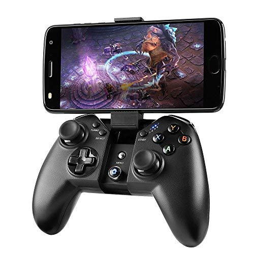 MAD GIGA Game-Controller, kabellos, Bluetooth-Gamepad Fernbedienung für PC (Windows XP/7/8/8.1/10), PS3, Android Phone, Vista, TV Box, tragbarer Spiele-Griff (Minecraft Windows Xp)
