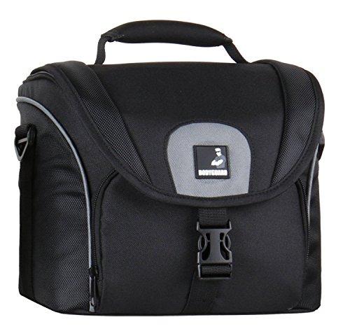Bodyguard 5* Kamera-Tasche für D-SLR Kamera + 3-4 mittellange Objektive : Fototasche SLR Hoch für z.b. Sony Alpha 77 58 68 77 II 7S DSC-RX10 Pentax K-3 K-S2 K-50