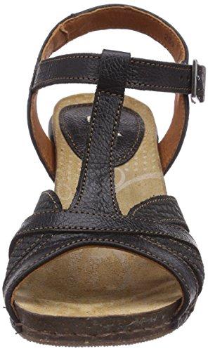 Sandali Con Cinturino Alla Caviglia Da Donna Mi Sento Darte (nero)