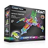 Laser Pegs - Jolzfig16-00000 - Power Base - 16 En 1 - Space Fighter - 102 Pièces