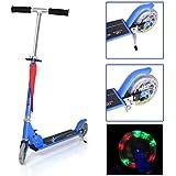 Fascol Trottinette Freestyle 2 roues en Aluminium Scooter Pliable Lumineux Roues pour Enfant 3-13 ans
