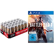Battlefield Game + Power Point Energy Drink Classic in Battlefield Edition