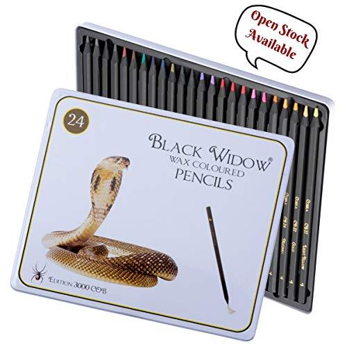 Buntstifte Farbige Bleistifte für Erwachsene, das beste Farbbleistift Set für Erwachsenen Malbücher, Top Qualität 24 Stück Schwarzholz Zeichnen Kit zur Verwendung in ihrer Bücher.