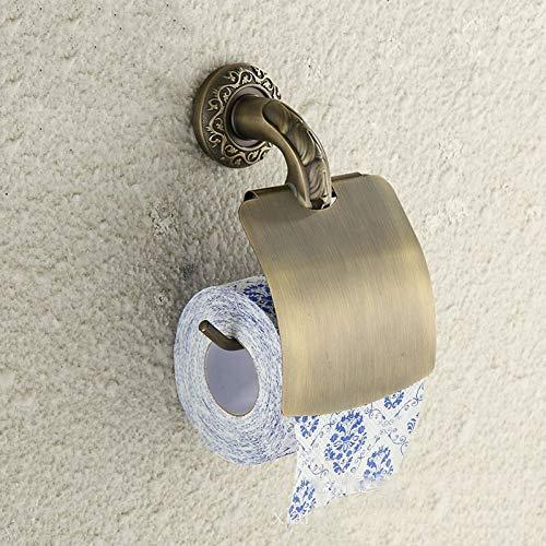 LanDream Papierhalter Toilettenpapierhalter Toilettenpapierhalter Toilettenpapierhalter Rollenhalter Edelstahl Toilettenpapierhalter Bad Schnitzerei Hardware Anhänger -