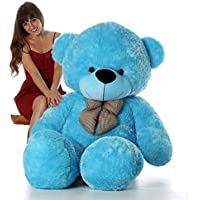 NP Toys Branded Soft Toys Lovable/Huggable Teddy Bear for Girlfriend/Birthday Gift/Boy/Girl (Blue, 2.5 Feet)
