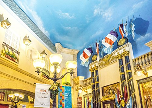hansepuzzle 12682 Gebäude - Hotel Paris, 260 Teile in hochwertiger Kartonbox, Puzzle-Teile in wiederverschliessbarem Beutel. -